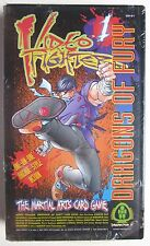 VIDEO FIGHTER DRAGONS OF FURY Martial Arts Card Game (NEW/1994/Ianus-DreamPod9)