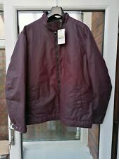 BNWT Mens Barbour Barnby Waxed Jacket Red XL XXL rrp£199