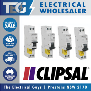 CLIPSAL Schneider 4.5KA RCBO RCD MCB Safety Switch Circuit Breaker Combo