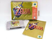 Complete with Box and Manual! Legend of Zelda Ocarina of Time Nintendo 64 CIB