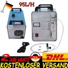 400W HHO Gas Wasser Wasserstoff Flamme Generator Acryl Schweißgerät + Torch DHL