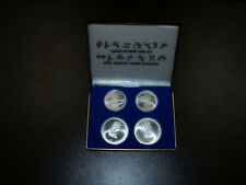 1976 Canada Sports Olympic Four Coin Silver Mint Set