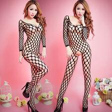 Frauen Sexy Wäsche Nachtwäsche Fishnet Körper Strumpf Kleid Unterwäsche Babydoll