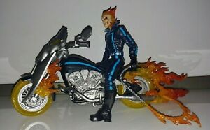 MARVEL LEGENDS GHOST RIDER ON MOTORCYCLE OOB RARE