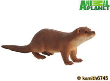 Mojo Animal Planet OTTER solid plastic toy wild zoo river * NEW