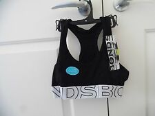 BONDS GIRLS SPORTY ACTIVE PLAY RACER BACK CROP TOP SIZE 14-16 BNWT