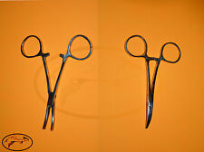"""4"""" inch curved Fishing Forceps Stainless Steel Carp Sea Trout Coarse Tackle"""