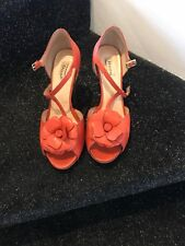 Dune Stunning coral shoes size 8
