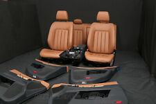 Mercedes CLS W218 C218 MOPF Leder Ausstattung Memory Sitze gelocht Sattelbraun