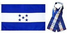 "Wholesale Combo Set Honduras Country 3x5 3'x5' Flag and 8""x60"" Scarf"