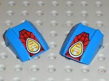 LEGO Blue Slope Curved Top ref 16621 / Set 10665 Spider-Man: Spider-Car Pursuit
