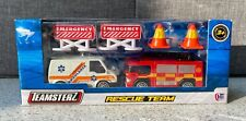 Teamsterz Rescue Team Fire Engine and Ambulance
