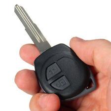 2 Button Remote Key Fob Case Shell + Rubber Pad for Suzuki Swift Ignis Alto SX4