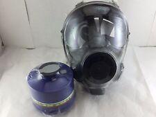 NBC Gas Mask NATO SGE 400/3 w/Military-Grade 40mm NBC Filter Exp 5/2022 ALL NEW