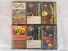 Vintage Cassettes The Doors Cassette Tape Lot Of 6 Photos Show Titles