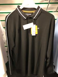 Calvin Klein Long Sleeve Golf Polo Shirt