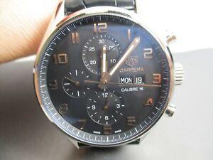 TAG Heuer Carrera Calibre 16 Automatic Chronograph Watch CV2A1AB