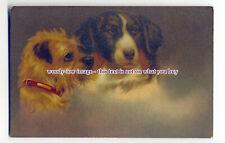 an1017 - Portrait of Two Dogs, No.944  Artist - U/K - postcard