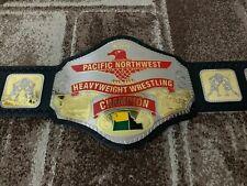 NWA Pacific NorthWest Heavyweight Wrestling Championship Belt.Adult Size.
