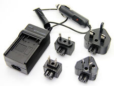 Battery Charger For CGA-S008A Panasonic Lumix DMC-FS3 DMC-FS5 DMC-FS20 DMC-FX30
