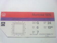 Billet Jeux Olympiques Montréal 24.07.1976 - Wrestling (10:00)