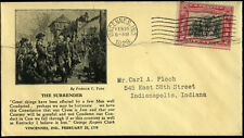 #651-2 SHOCKLEY U.S. FIRST DAY COVER CACHET BM9530