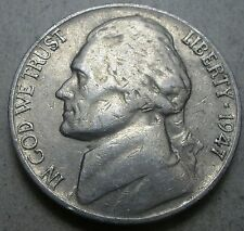 1947-S  Jefferson Nickel  low mintage  'free shipping'