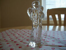 BACCARAT CRYSTAL ANGEL WITH HORN MINT BEAUTIFUL!!