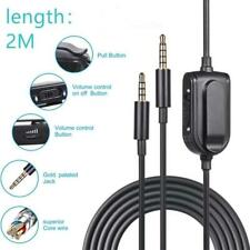 Headphone Cable Audio-AUX Cable for Logitech-Astro A10 A40 A30 Headset Cord Line