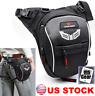 Men Drop Leg Bag Fanny Pack Tactical Waist Hip Thigh Pouch Motorcycle Hiking