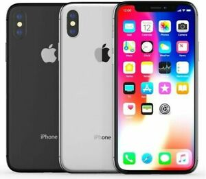 Apple iPhone X Unlocked - 64GB 256GB - All Colours - Excellent Condition A Grade