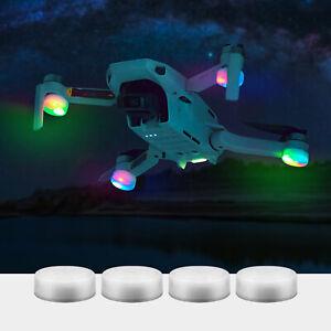 4PCS Night Flight LED Light Lamp Accessories For DJI Mavic Mini Air 2 Pro Drone