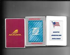 Air Atlanta, Piedmont, & N. American Sld. Dks .Of Cards