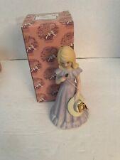 1985 Enesco Growing Up Birthday Girl Figurine 12