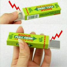 Funny Kidding Electric Shock Joke Bubble Chewing Gum Shocking Toys Prank O4 A0S8