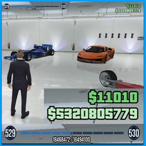 GTA V FRESH PC EPIC GAMES 5 BILLION + 500 LEVELS