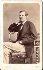 Mevius CDV Foto Feiner Herr - Rennes 1870er