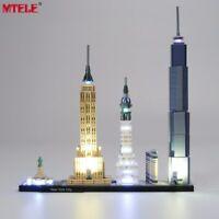 LED Light Up Kit Toy For LEGO 21028 Architecture New York City Lighting Set NY