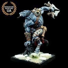 ⭐️Rackham Confrontation Painted Wolfen of Yllia Worg Waning Moon D&D Werewolf