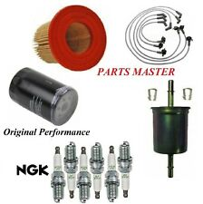 Tune Up Kit Filters Wire Spark Plugs For FORD MUSTANG V6 3.8L 1999-2000