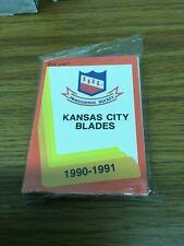 1990-91 PROCARDS IHL KANSAS CITY BLADES SEALED TEAM SET