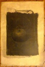Yuri Kuper Lithographie originale art abstrait abstraction artiste russe Paris