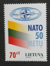50th anniversary of North Atlantic treaty organisation stamp, 1999, Lithuania