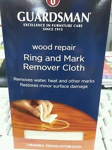Ring and mark remover cloth wood repair cleaner for timber tables etc