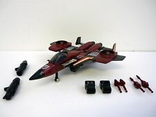 TRANSFORMERS THRUST Vintage G1 Action Figure Jet COMPLETE 1985