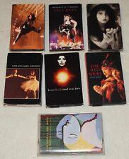 Kate Bush cassette tape single rare love anger world pleasure shoes Adler girl