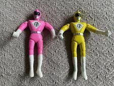 Bendable Power Rangers Yellow Pink 5? 1990s