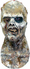 Morris Costumes Adult Unisex Dirt And Life Like Worms Zombie Latex Mask. TA348