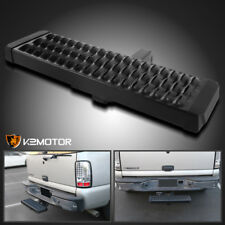 "Rear Hitch Step Bar Bumper Guard Protection Aluminum For 2"" Receiver Truck SUV"