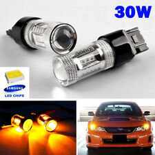 Amber 580 W21/5W 582 7440 LED SAMSUNG Sidelight Indicator Brake Daytime Light